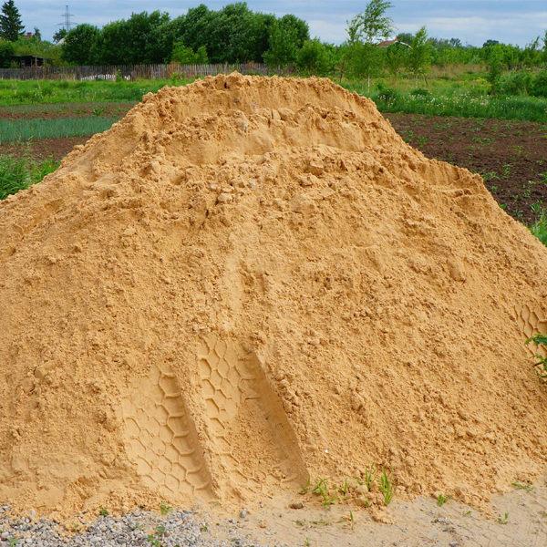 Песок с доставкой. Минский район