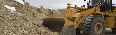 Песок, ПГС, гравий с доставкой